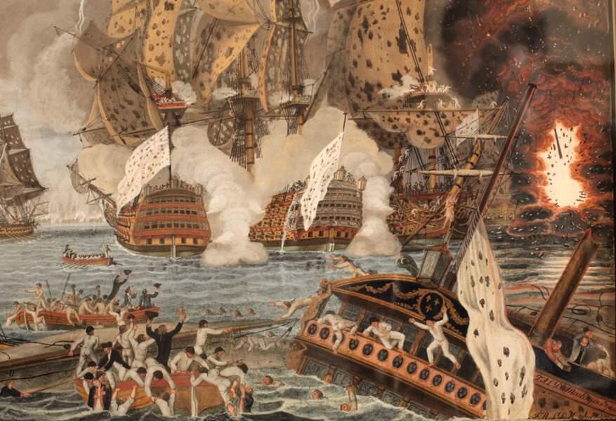 En 1782, l'archipel des Saintes est le théâtre d'un « Trafalgar » antillais