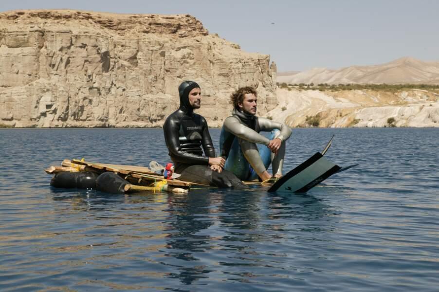 Lacs de Band-e Amir, en Afghanistan