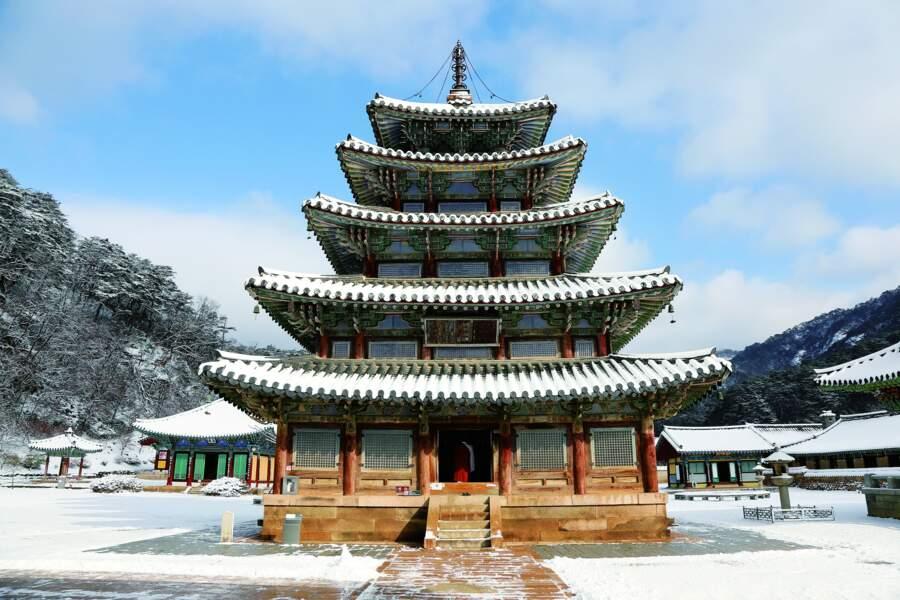 Sansa, monastères bouddhistes de montagne, en Corée