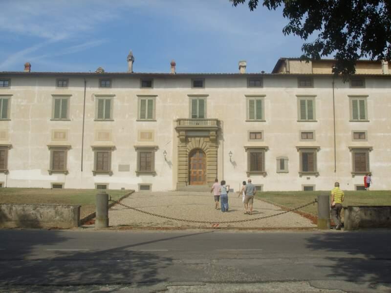 La villa Medicea di Castello