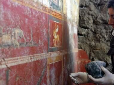De splendides décors et une fresque antique révélés sur le site de Pompéi
