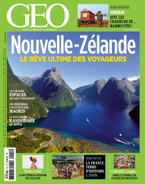 Retrouvez l'intégralité du reportage dans le magazine GEO n° 444 (février 2016)
