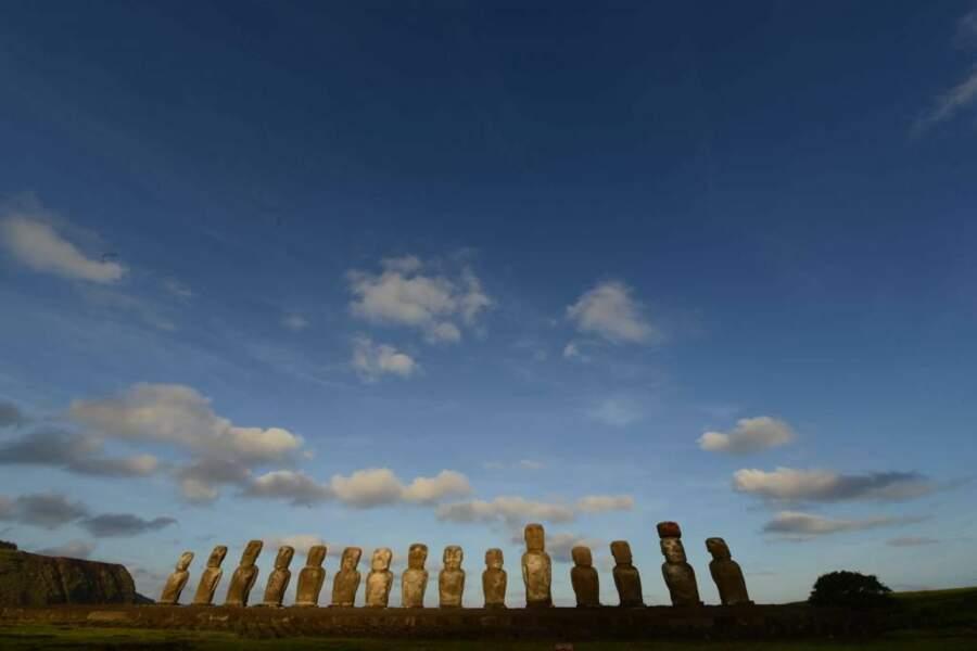Photo prise sur l'île de Pâques (Chili) par jol