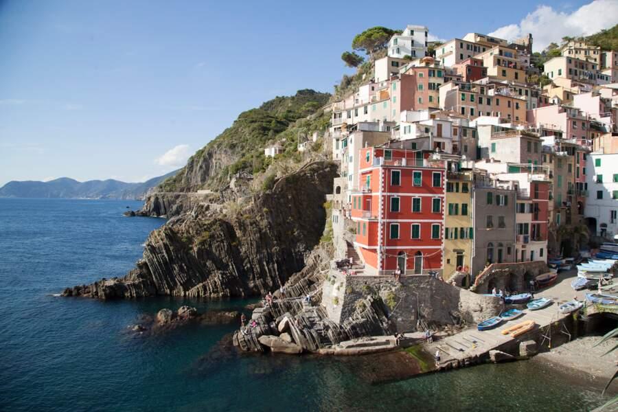Riomaggiore, première étape des Cinque Terre en venant de La Spezia