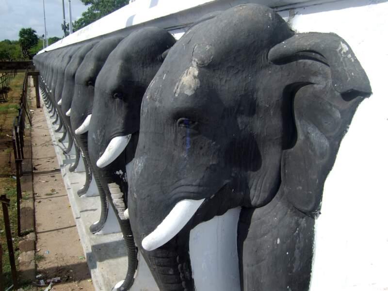Le parc historique d'Anuradhapura