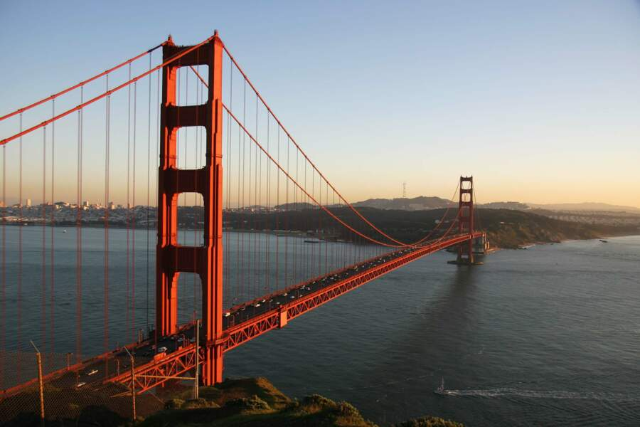 Traverser le golden Gate Bridge, symbole de San Francisco