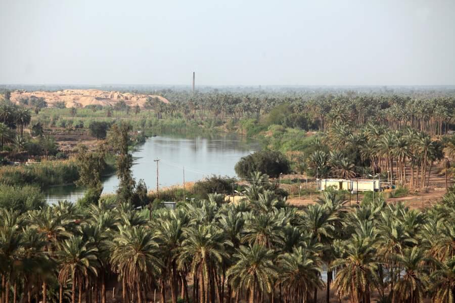 Une civilisation née entre deux fleuves, le Tigre et l'Euphrate