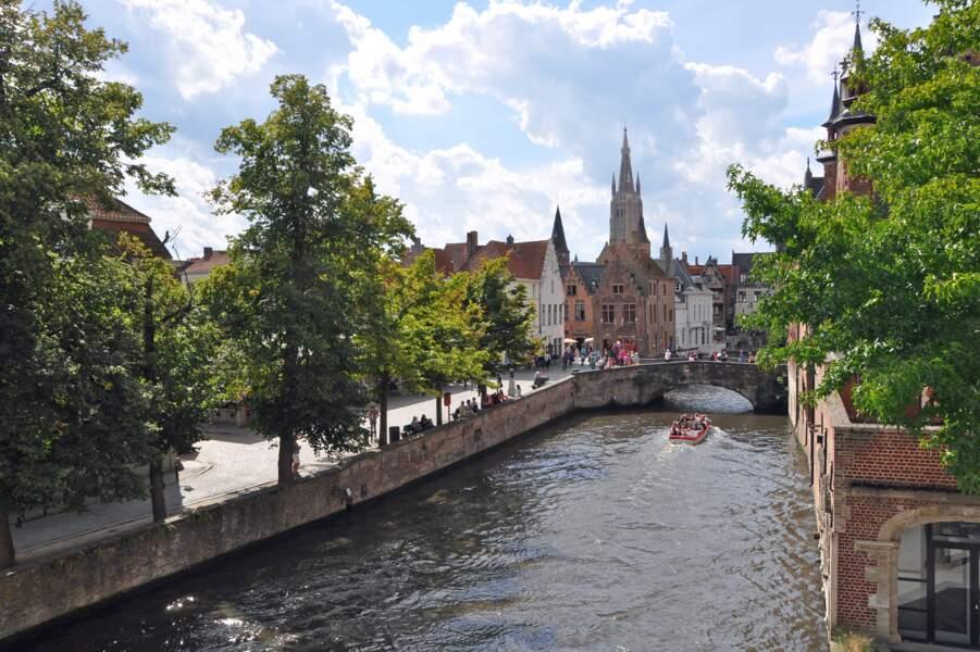 Le Groenerei (le canal vert)