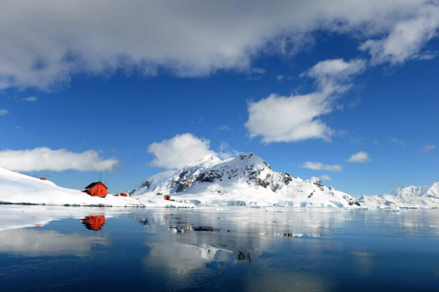 Base argentine « Almirante Brown », Baie Paradis - Antarctique