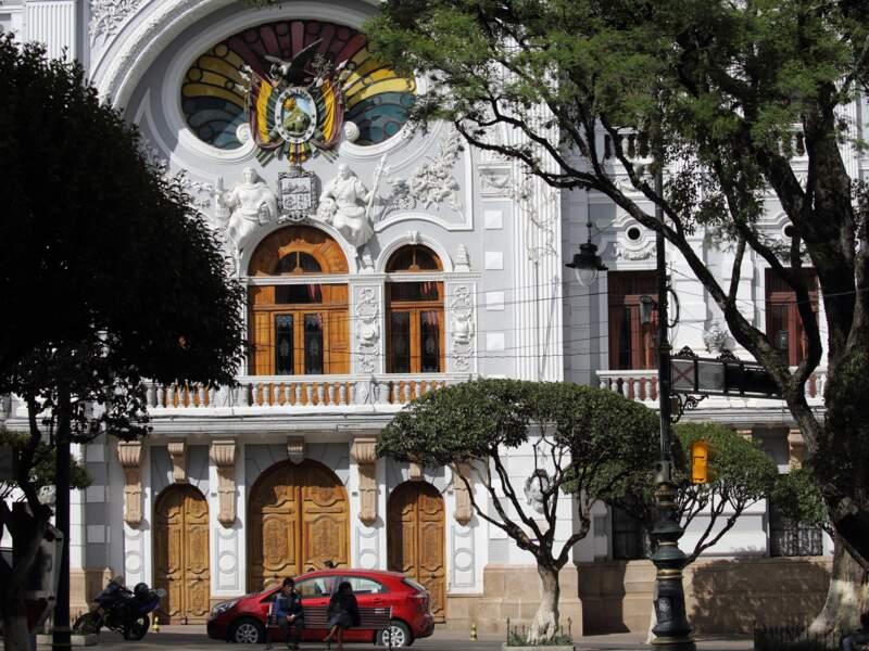 Le Palacio Nacional de Sucre