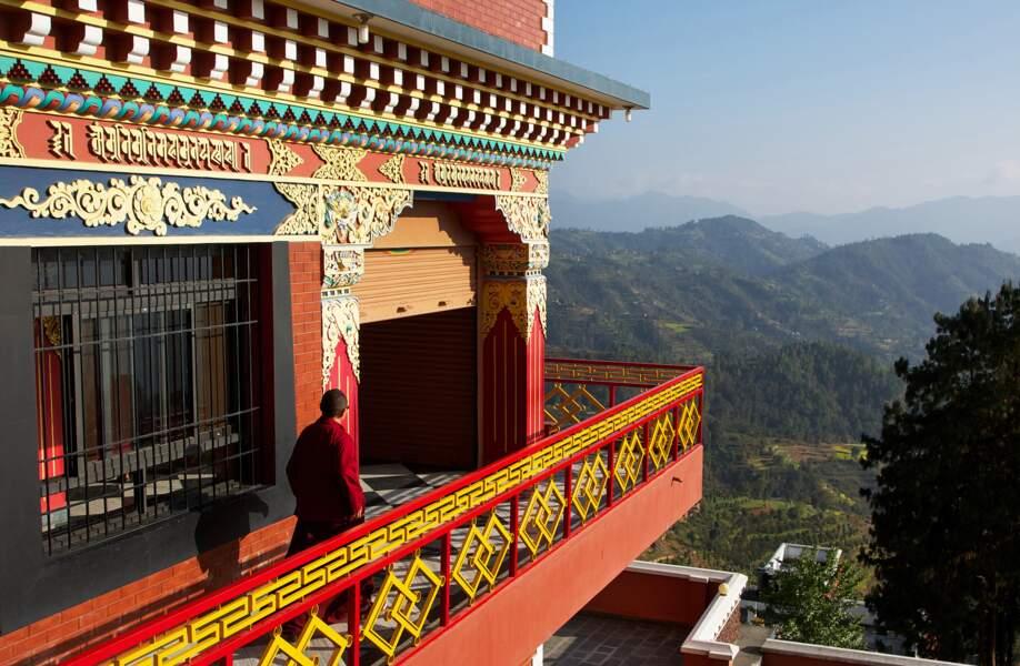 Visiter Thrangu Tashi Yangtse, le monastère de Namo Buddha