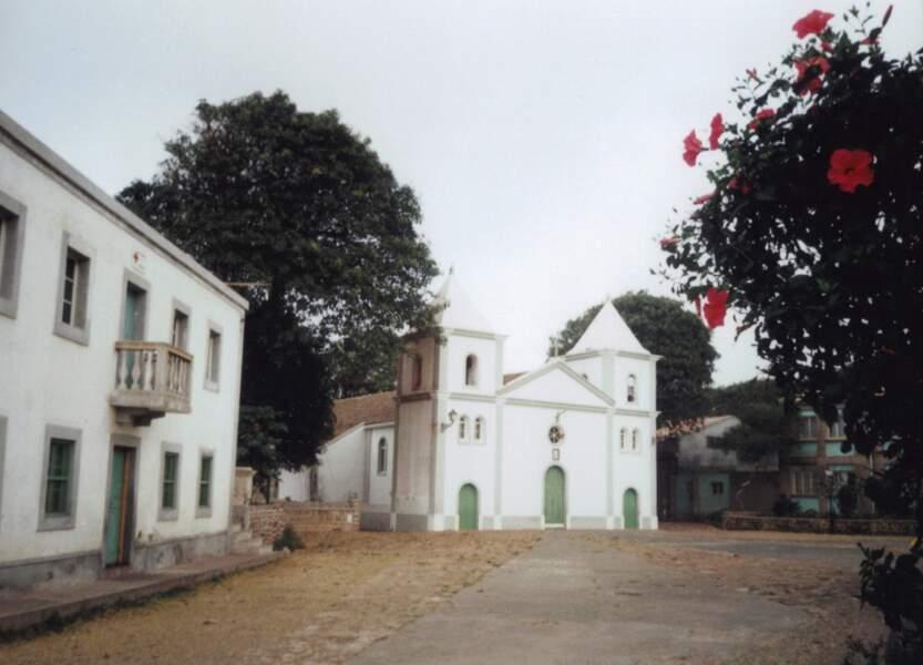 La jolie ville de Nova Sintra, à Brava