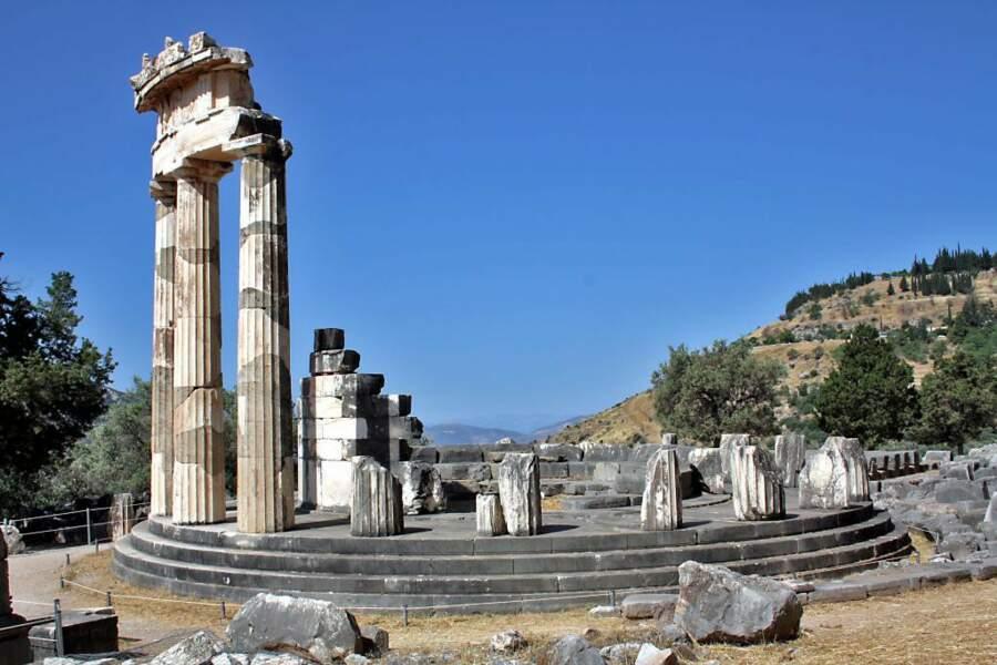 Temple d'Athéna Pronaia, Delphes