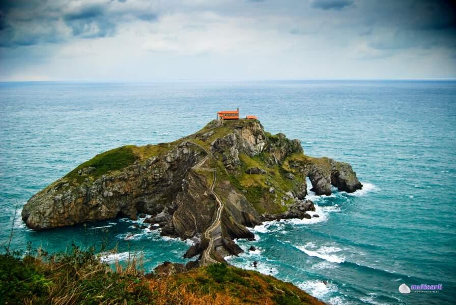 L'ermitage de San Juan de Gaztelugatxe, Pays basque espagnol : Peyredragon (Dragonstone)