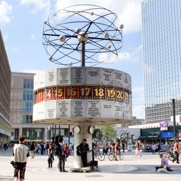 Ressentir Berlin, sur l'Alexanderplatz
