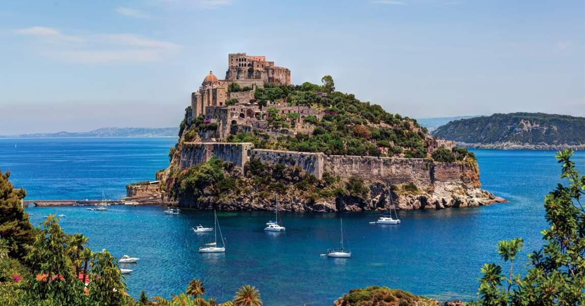 Château Aragonais, île d'Ischia, Italie