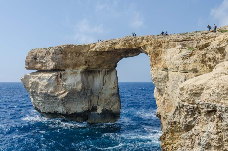La Fenêtre d'Azur sur l'île de Gozo, Malte