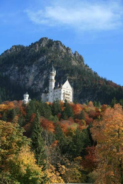Le château de Neuschwanstein, en Allemagne