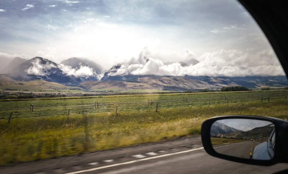 Etats-Unis - Yellowstone : Mammoth Hot Springs & Norris Geyser Basin