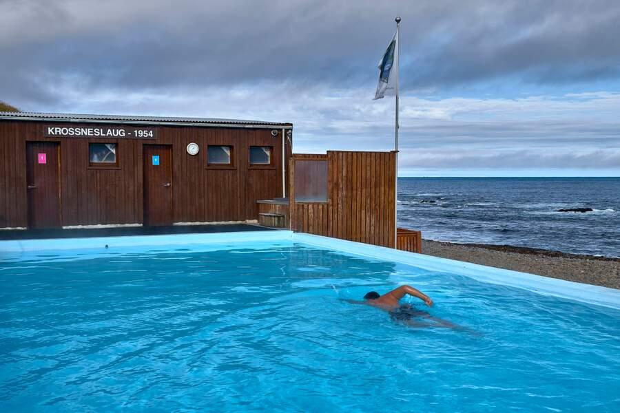 Une piscine à 31°C
