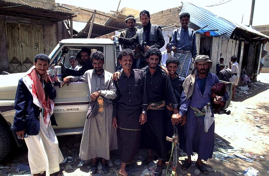 Arrivée au souk Al Thal