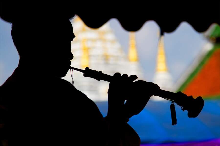 Musicien de Chiang Rai, par Jean-Claude Soboul