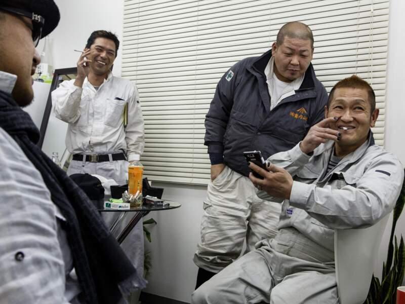 Les yakuzas, mafieux japonais, oeuvrent activement à la décontamination