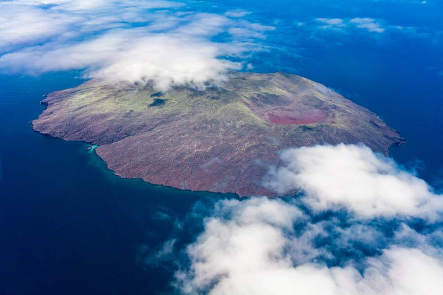 Vol au-dessus d'un nid de volcans