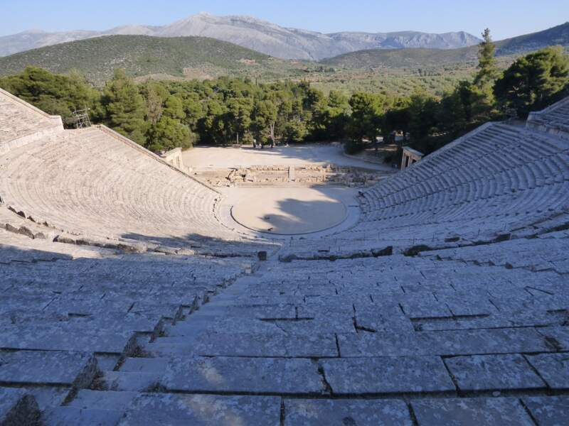 Sanctuaire d'Asclépios en Epidaure, Grèce