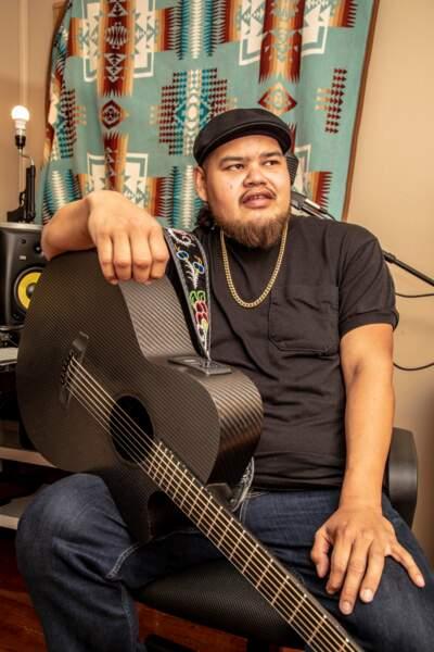 Leonard Sumner, 34 ans : monsieur chante le blues