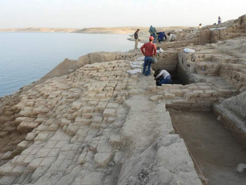 Un palais de l'âge du bronze, vieux de plus de 3000 ans