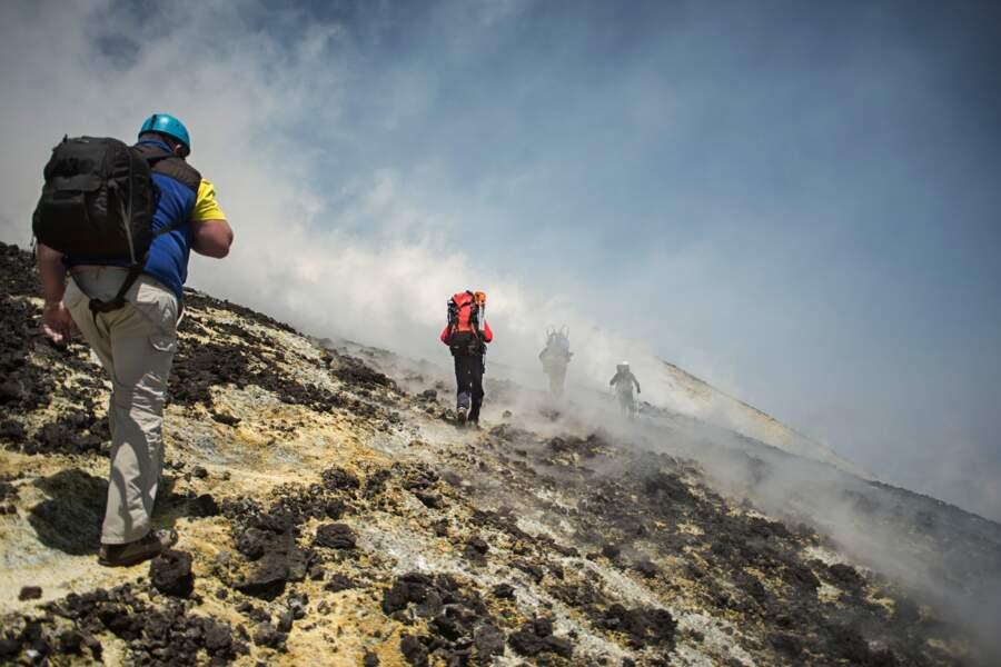 Les moindres signes d'activité du volcan sont surveillés