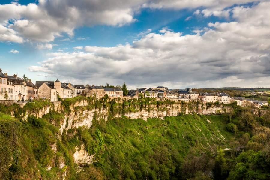 Canyon ou trou de Bozouls (Aveyron), superbe anomalie géologique en fer à cheval