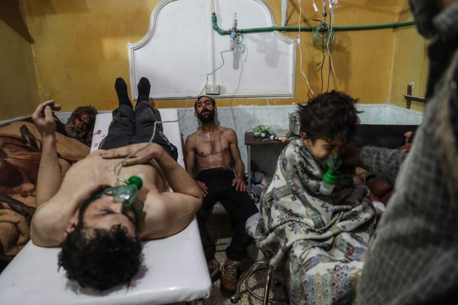 """Syrie : attaque chimique présumée dans la Ghouta orientale, février 2018 – Catégorie """"photo de l'année"""""""