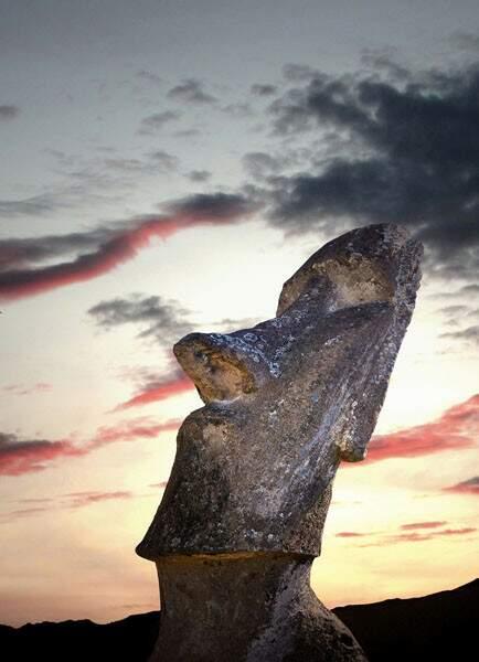 Le moaï Piro Piro