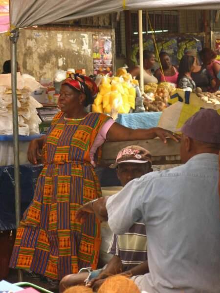 Jour de marché à Cayenne