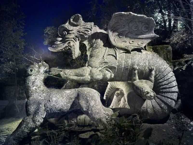 Dragon de Bomarzo