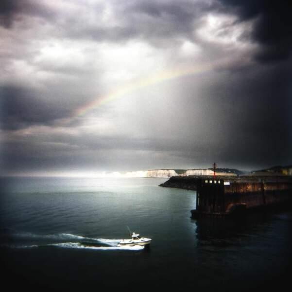 Vue de Dieppe, par agnesmoallem