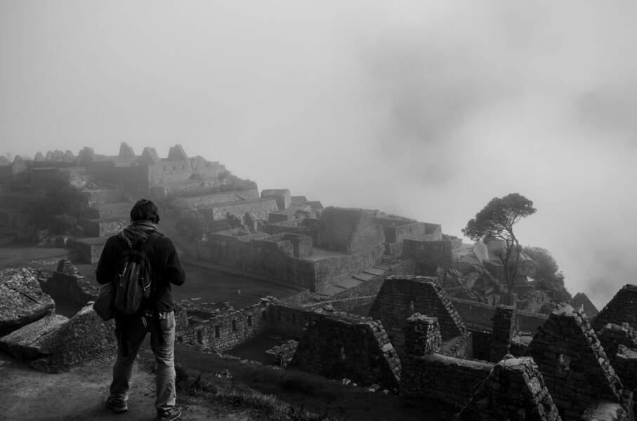 Vestiges incas du Machu Picchu, au Pérou