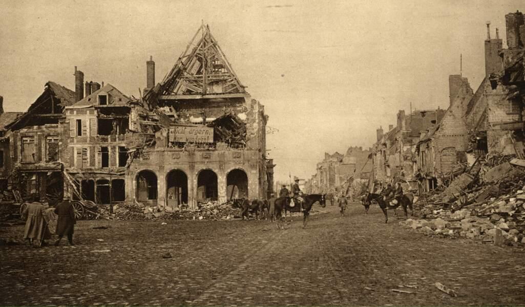 Novembre – décembre 1918 : le retour contrarié des soldats allemands