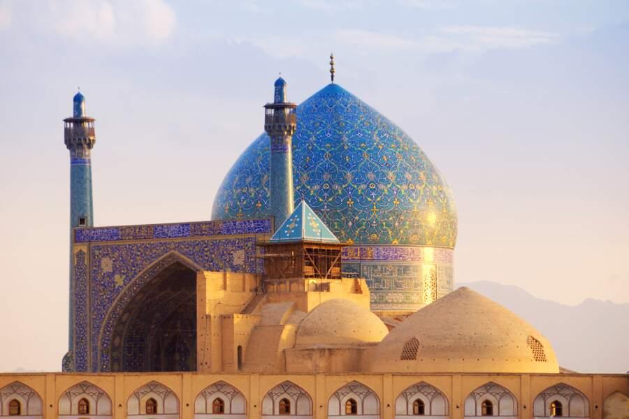 Mosquée de l'Imam, à Ispahan