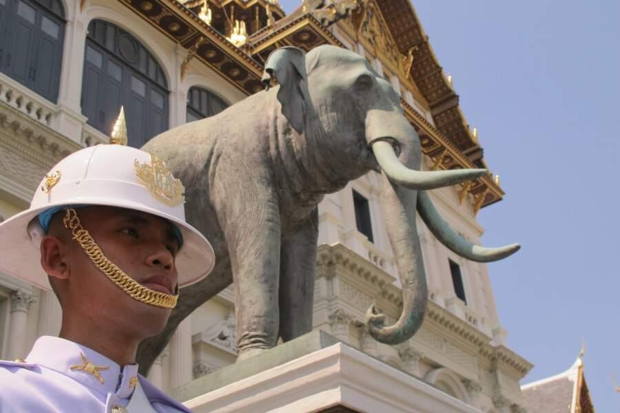 Grand Palais de Bangkok, en Thaïlande