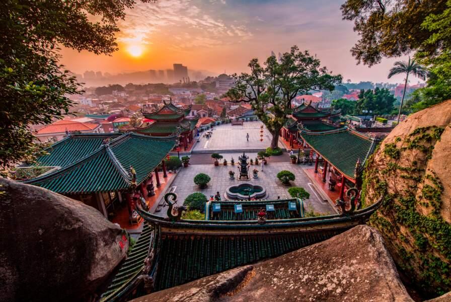 L'île de Gulangyu, en Chine