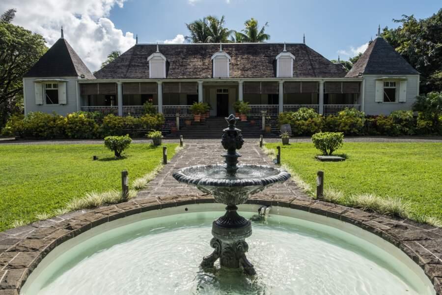 La maison coloniale du domaine Saint Aubin, propriété d'Eric Guimbeau, descendant de colons d'origine française
