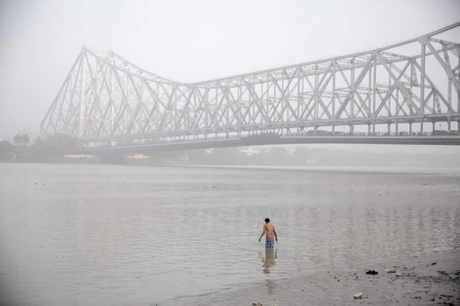 Le pont de Howrah