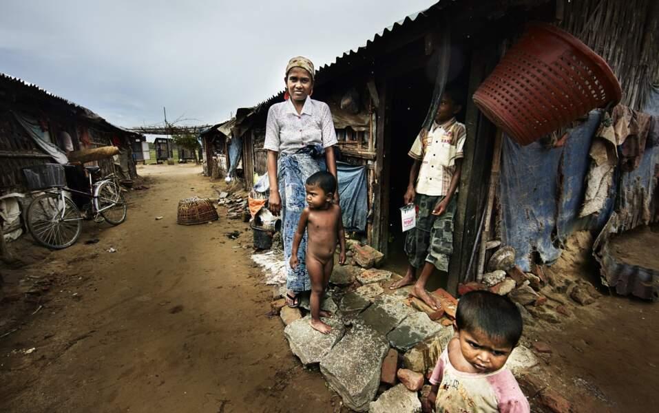Rohingya en danger