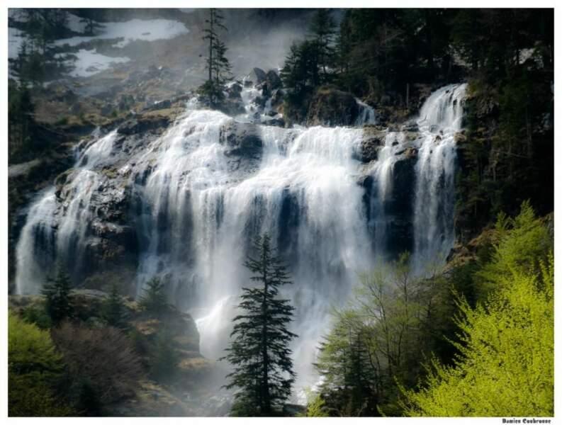 Photo prise à la cascade d'Ars (Ariège) par le GEOnaute : Damien coubronne