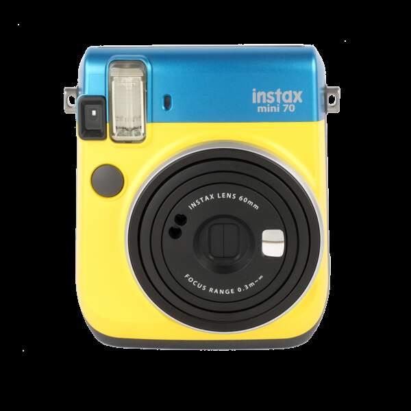 Castelbajac donne des couleurs pop à l'Instax Mini 70