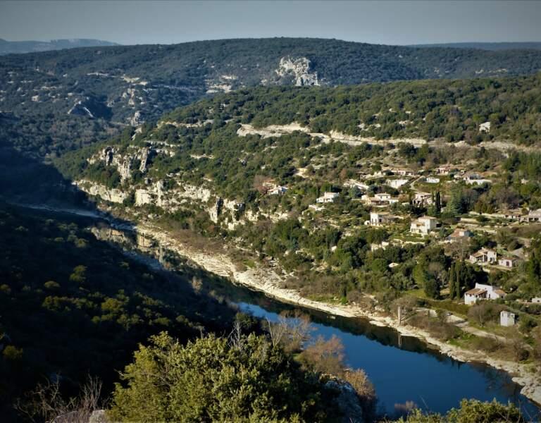 L'Ardèche en février