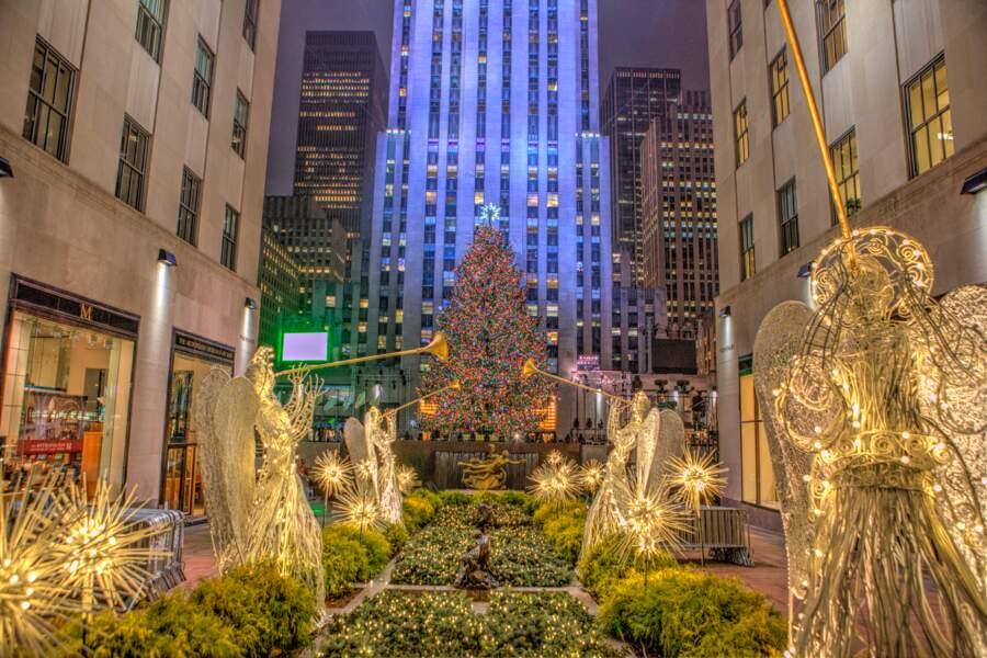 Fêter Noël au Rockefeller Center